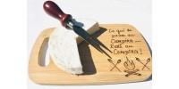 Planche à découper pour légumes ou fromage ( petit format)